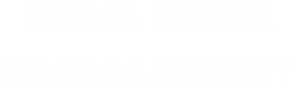 Local Music Global Impact Transparent