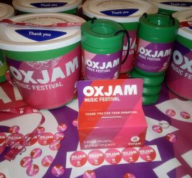 Oxjam Fundraising