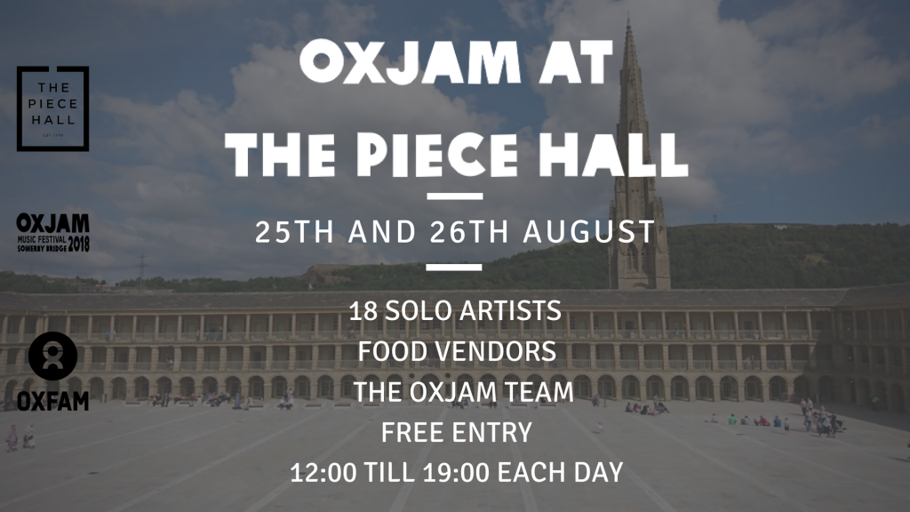 Oxjam At The Piece Hall 2018