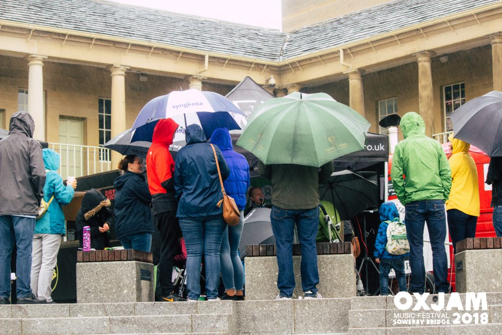 Oxjam at The Piece Hall Rain