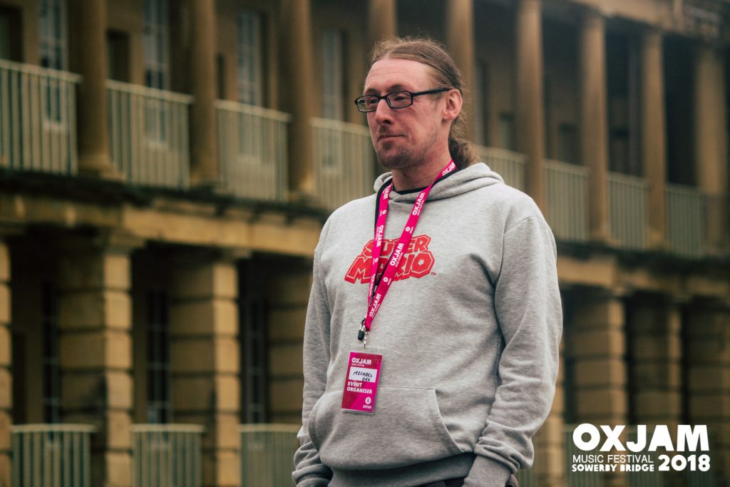 Michael Gee at Oxjam at The Piece Hall